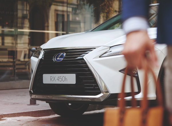 Lexus RX Crafted Edition, SUV, Black grille